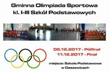 Gminna Olimpiada Sportowa 2018