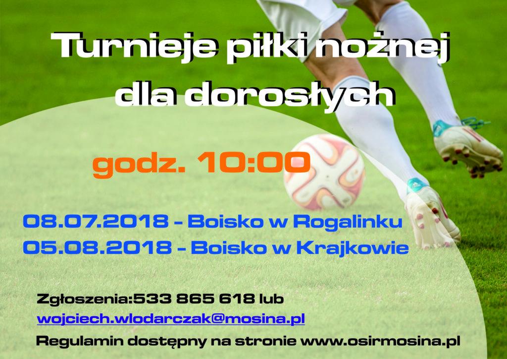 Turnieje Piłki nożnej dla dorosłych