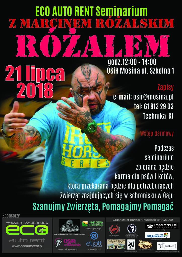 Seminarium z Marcinem Różalskim
