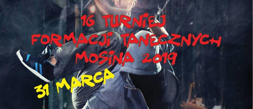 Wyniki - XVI Turniej Formacji Tanecznych Mosina 2019