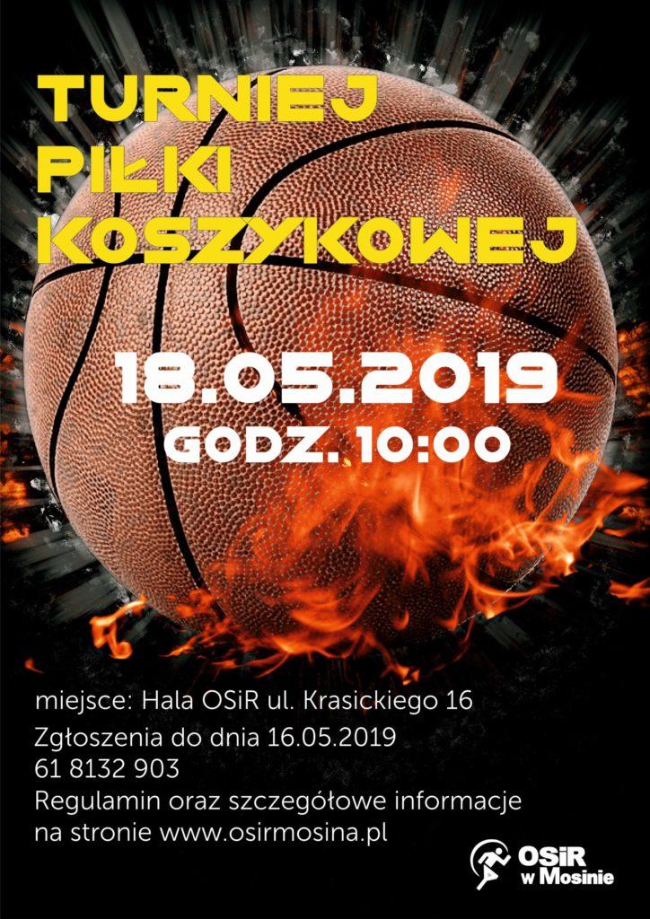 Turniej Piłki Koszykowej - Dni Rzeczpospolitej Mosińskiej 2019