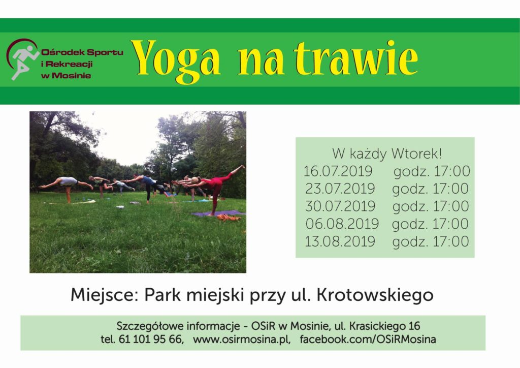 Yoga na trawie