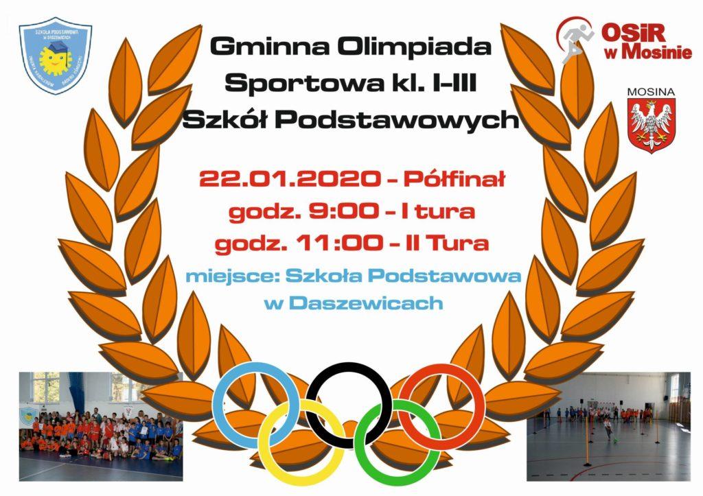 Gminna Olimpiada Sportowa