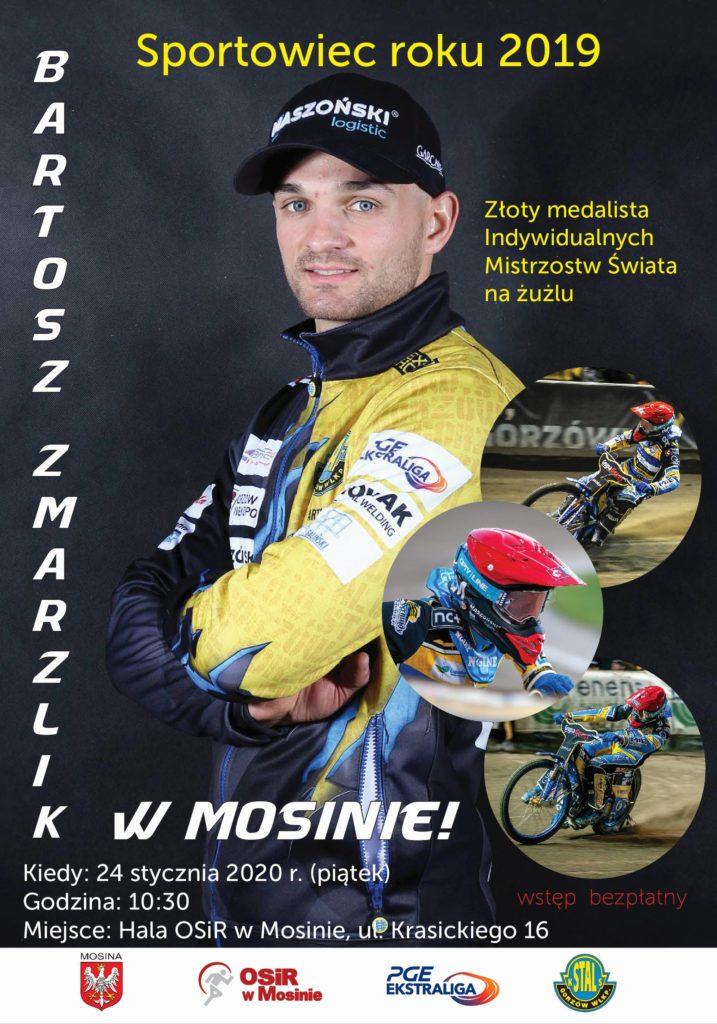 Bartosz Zmarzlik w Mosinie!