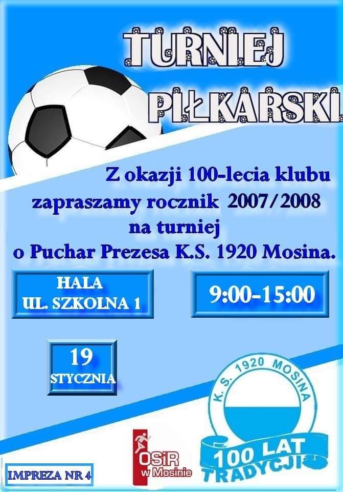 Turniej Piłkarski rocznika 2007/2008