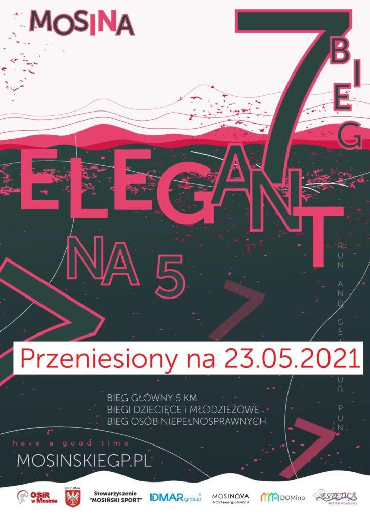 """7 Bieg """"Elegant na 5"""" przeniesiony na rok 2021"""