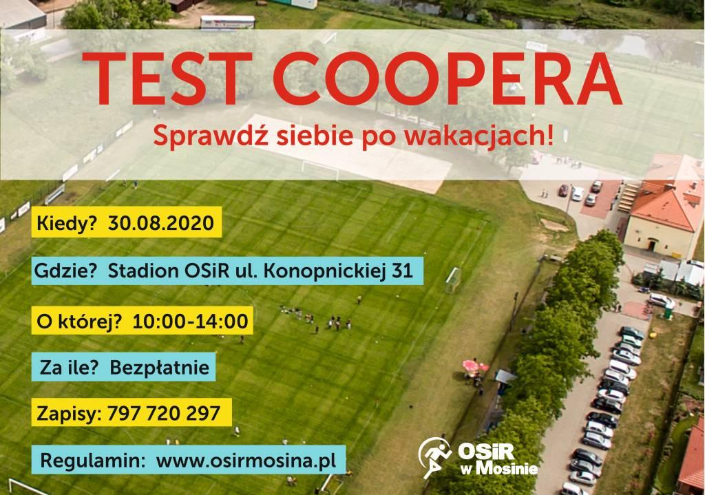 Test Coopera - Sprawdź siebie po wakacjach!