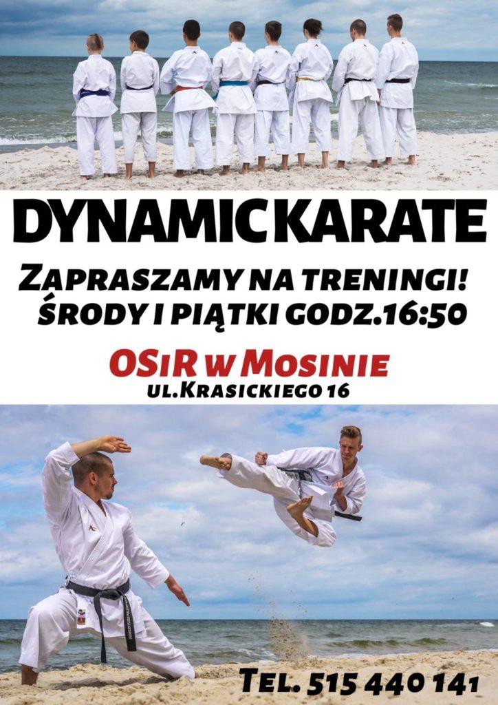 Zajęcia Karate - OSiR w Mosinie, ul. Krasickiego 16