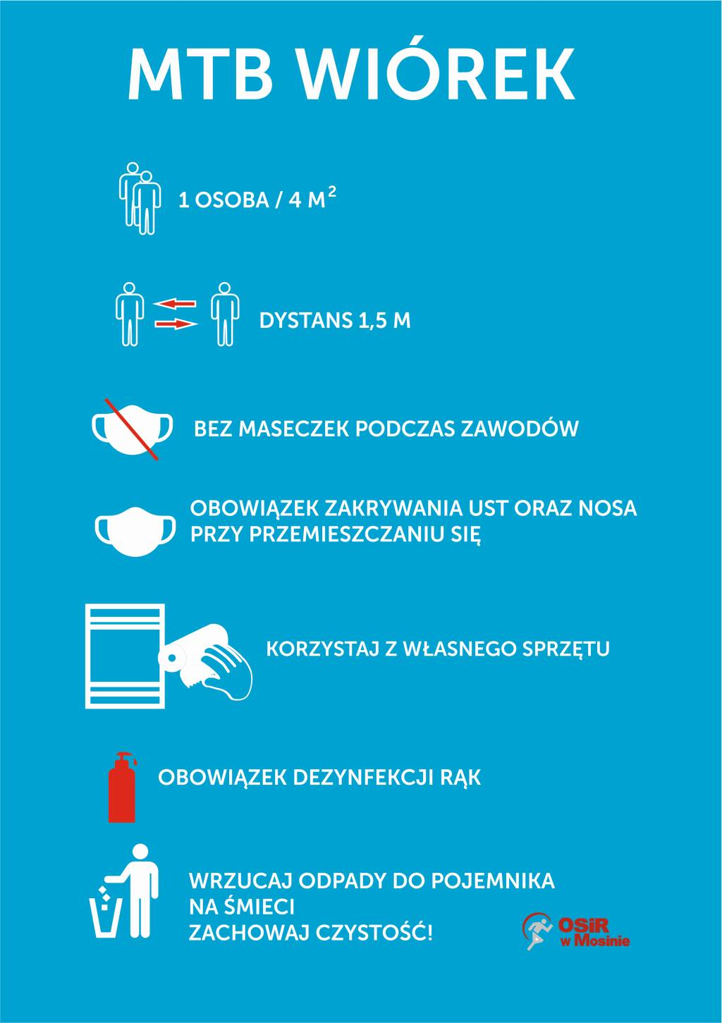 Zasady bezpieczeństwa podczas MTB Wiórek