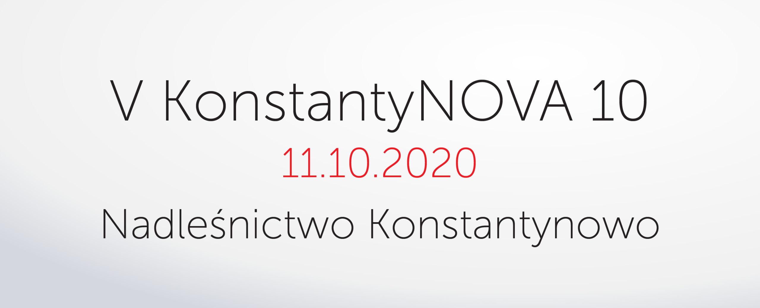 V Konstantynova dycha odbędzie się 11.10.2020