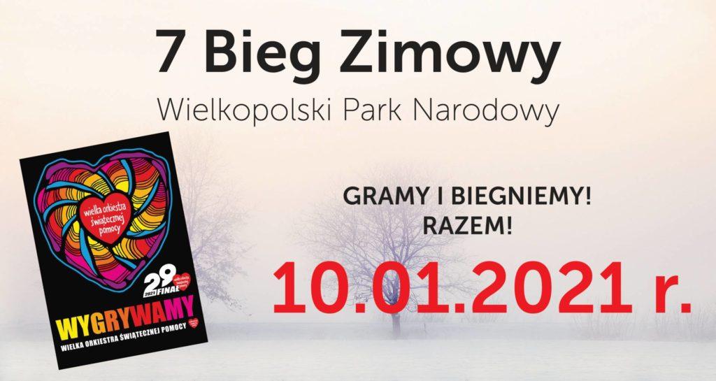 7 Bieg Zimowy po Wielkopolskim Parku Narodowym!